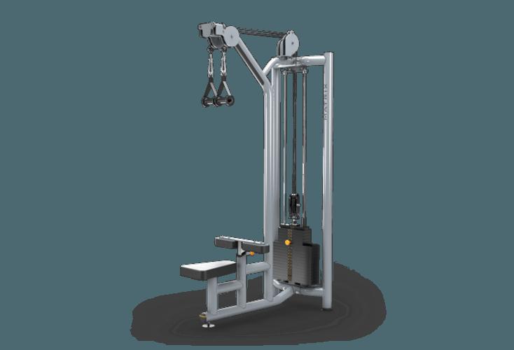dual pulley lat pulldown multi station matrix fitness united
