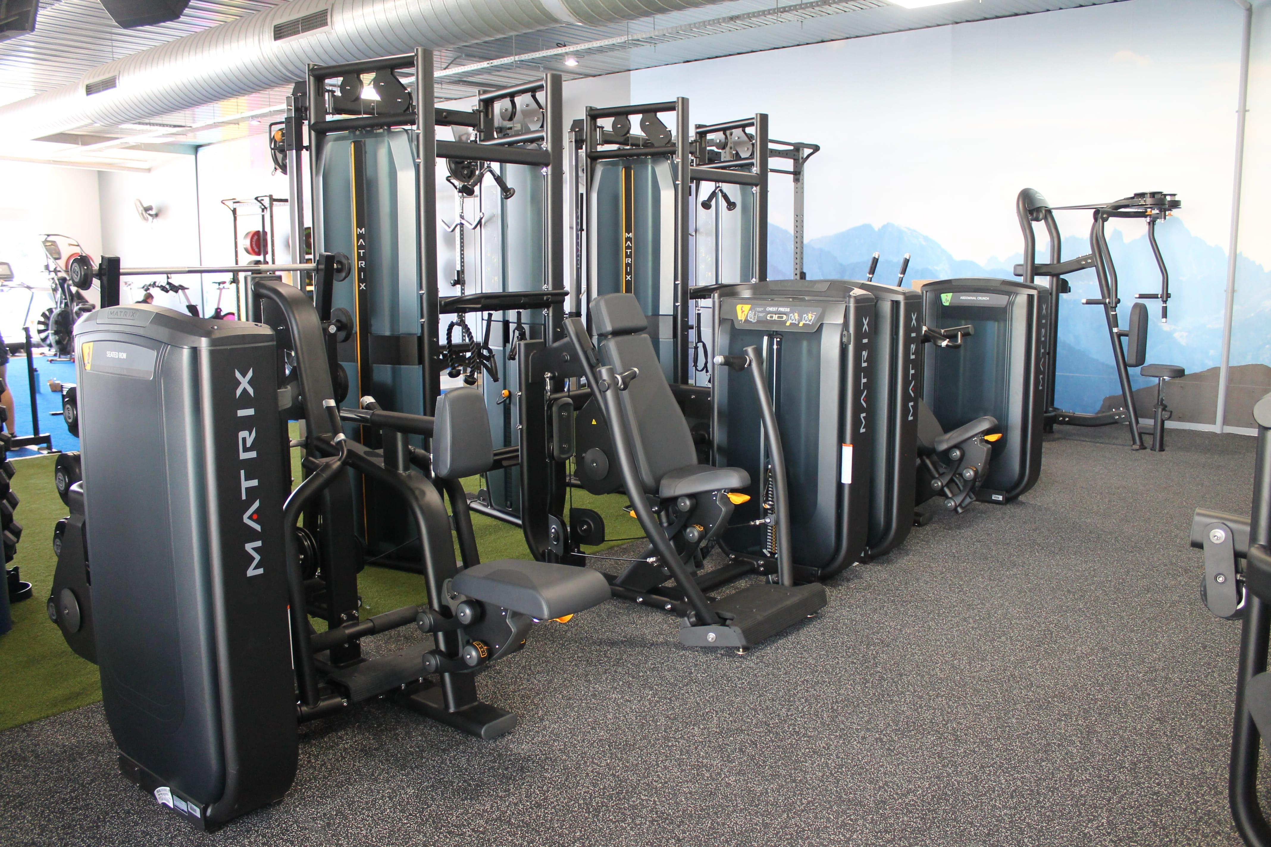 Commercial fitness & home gym equipment matrix fitness australia
