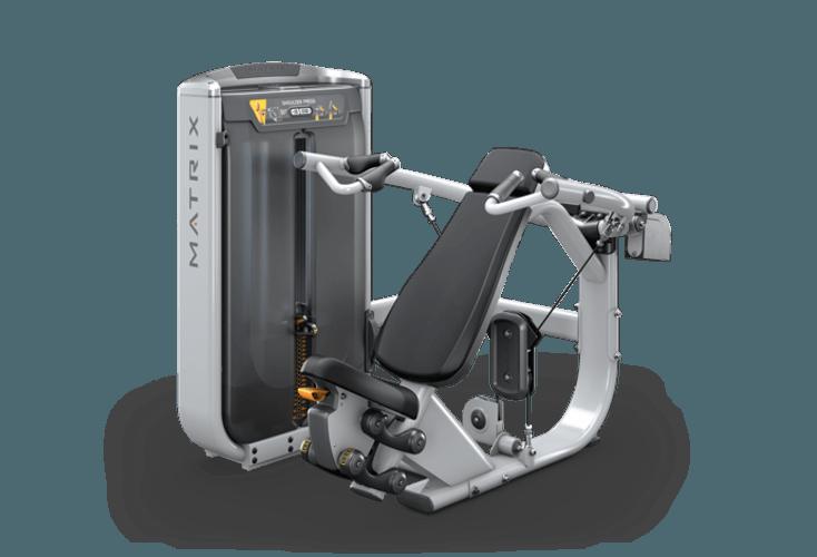 2f8eb6e35 Converging Shoulder Press - Single Station | Matrix Fitness - United ...