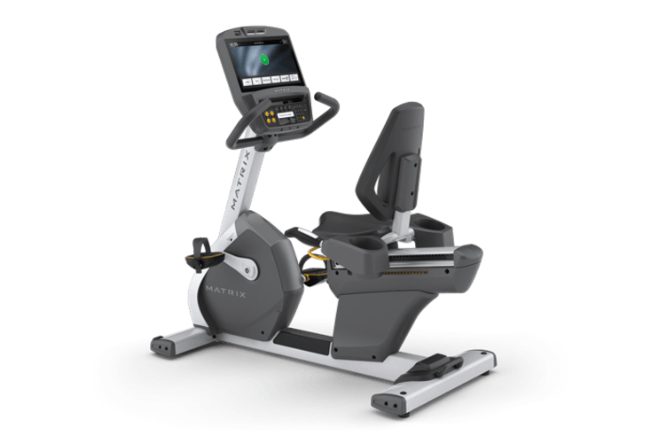Matrix Recumbent Bike Fitness Test