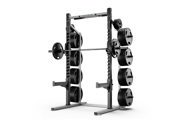 Half Rack - Racks & Platforms   Matrix Fitness - United States