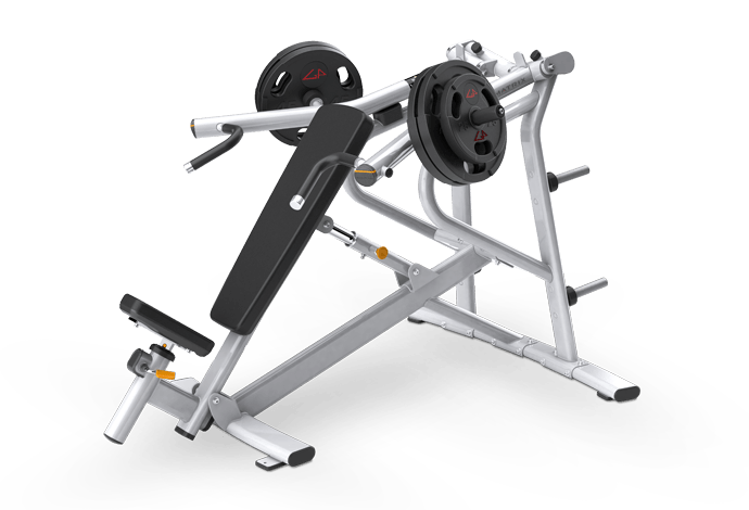 Incline Bench Press Plate Loaded Matrix Fitness United