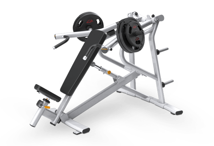 Incline Bench Press Plate Loaded Matrix Fitness United States