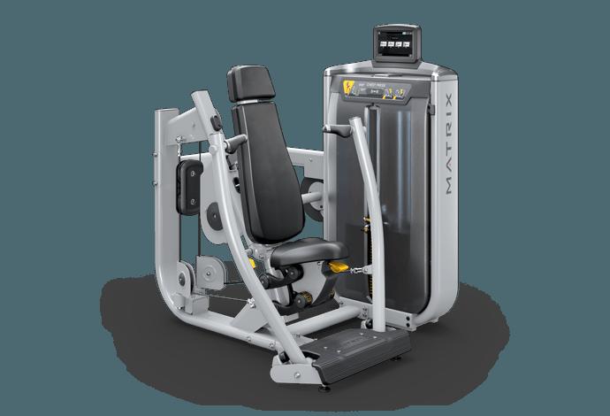 Converging Chest Press - Single Station   Matrix Fitness - United States