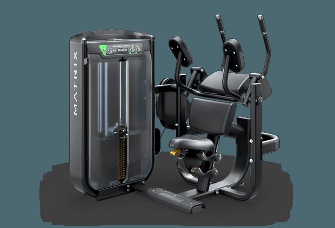 bea40c76b Abdominal Crunch - Single Station | Matrix Fitness - World